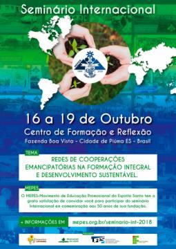 Cartaz Seminário Internacional MEPES